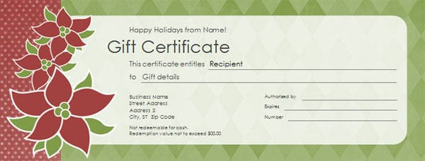 Doc Template for a Gift Certificate 1000 ideas about Gift – Printable Christmas Gift Certificates Templates Free