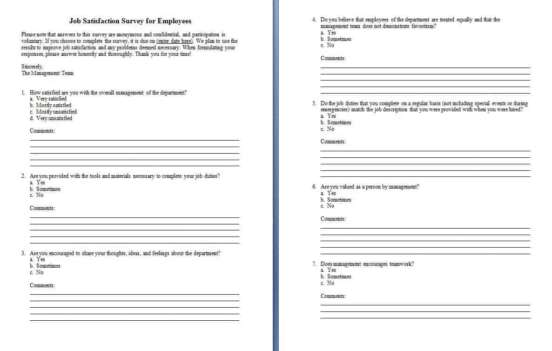 Doc1067627 Customer Survey Template Word customer survey – Customer Survey Template Word