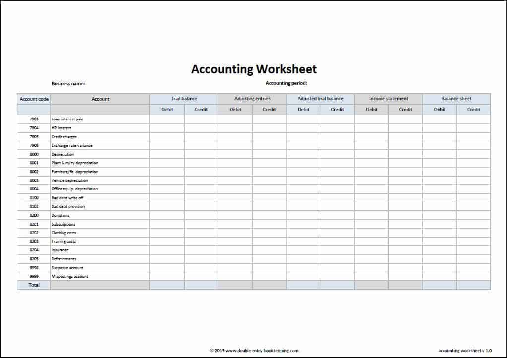 3 excel bookkeeping templates excel xlts for Company bookkeeping templates