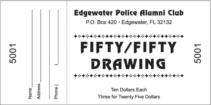 This is an image of Slobbery Printable Raffle Tickets Pdf