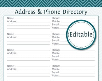 3 excel church directory templates excel xlts