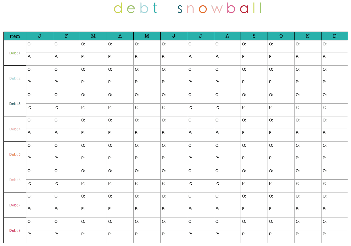 debt snowbasl template 5