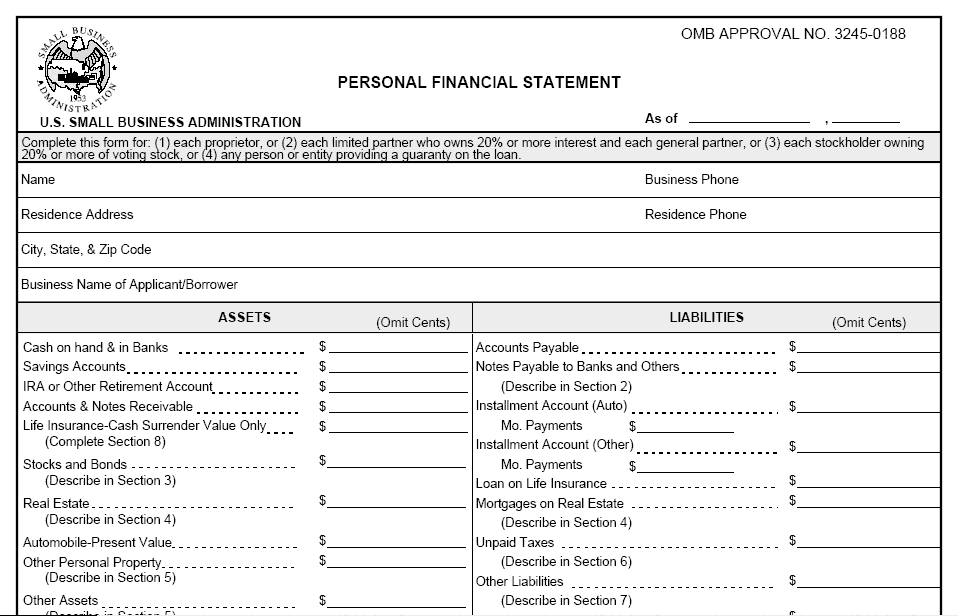 personal financial statement spreadsheet juve cenitdelacabrera co