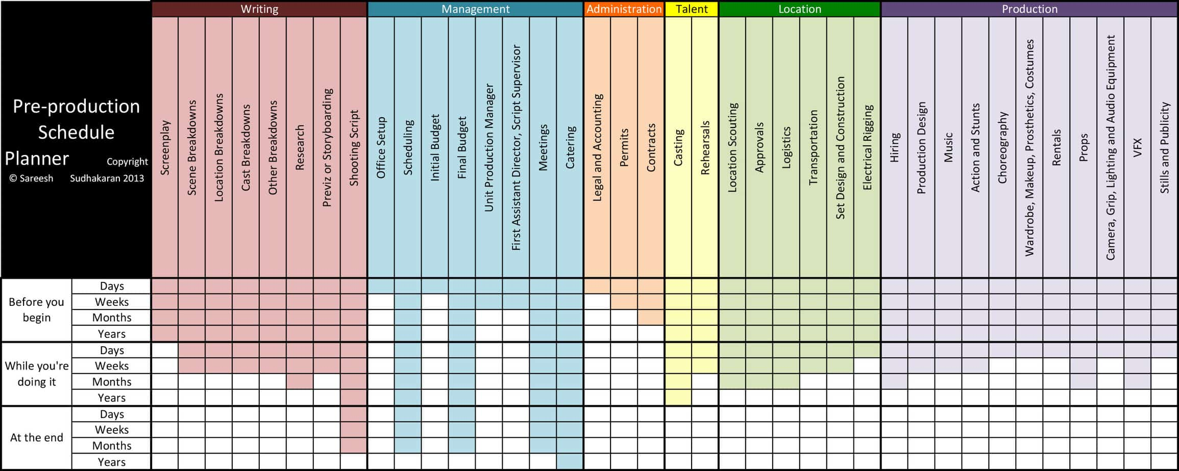 4 free production scheduling excel templates excel xlts