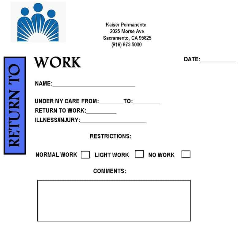 Doctor note template image 1