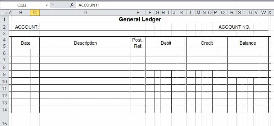account ledger template image 2