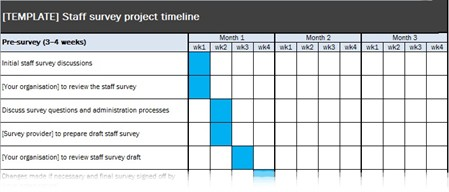 Downloadable Project Timeline Excel Template