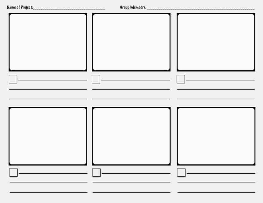 storyboard template preview 3