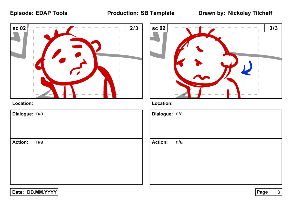 storyboard template preview 4