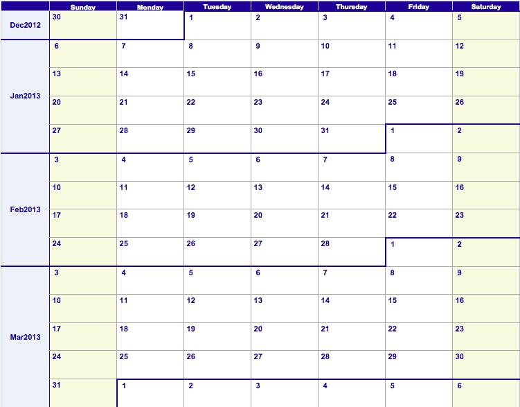 Weekly Workout Calendar Template Towerdlugopisyreklamowe